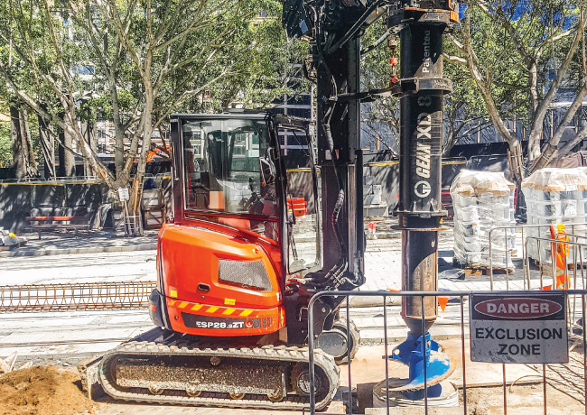 Alorra Group - Geax Compact Piling Rig